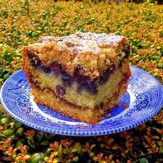 One Perfect Bite: Blueberry Streusel Coffee Cake~T~ A really lovely coffee cake perfect for a special occasion. Use fresh berries and check baking time as mentioned.