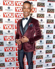Katlego Maboe looking dapper in Brooksfield at the You Spectacular 2016