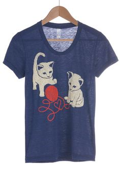 That Yarn Cat Tee, #ModCloth