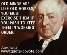 2. John Adams quotes - Quote Coyote- exercise your brain