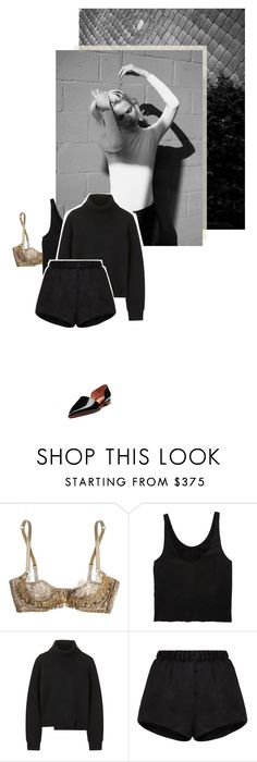 """Hey Boy Hey Girl"" by no-body ❤ liked on Polyvore featuring Agent Provocateur, Rika, 3.1 Phillip Lim, Proenza Schouler, E L L E R Y and Acne Studios"