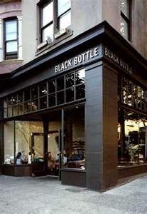 Black bottle in Seattle