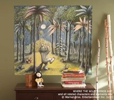 Where The Wild Things Are Mural | Pottery Barn Kids