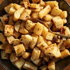 Honey-Mustard Parsnips Recipe with parsnips, sherry vinegar, honey ...