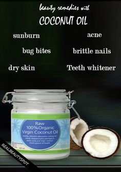 Amazing beauty remedies with Coconut Oil