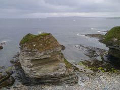 Rock formation, Thurso Bay by shirokazan, via Flickr