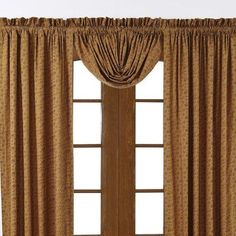 """VHC Brands Lewiston Balloon Lined 60"""" Curtain Valance"""