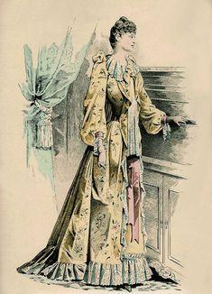 Tea gown 1892 ...