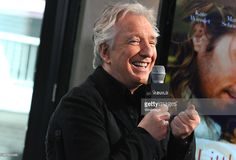 Actor Alan Rickman speaks about his film 'A Little Chaos' during AOL Build Speaker Series Presents: Alan Rickman at AOL Studios In New York on June 19, 2015 in New York City.
