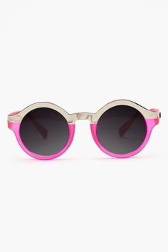 Shine Up Shades - Neon Pink  $40.00