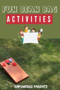 Educational Activities For Preschoolers, Fun Activities For Kids, Games For Kids, Bean Bag Activities, Bean Bag Games, Social Emotional Activities, Listening Skills, Gross Motor Skills, Sensory Play