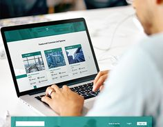 """Check out new work on my @Behance portfolio: """"Commercial Spaces - Landing Page Design"""" http://be.net/gallery/49446709/Commercial-Spaces-Landing-Page-Design"""