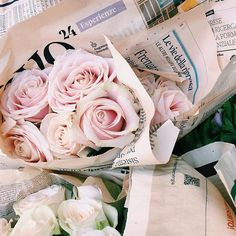 Hey Guys, it's okay if you can only buy a few choice flowers on Valentines Day....what you do, is go to a news-stand and buy any paper from France, and wrap the flowers as a bouquet in the paper--She'll be impressed -- I promise!  :)