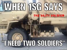 BY LOGANNYE— WEARETHEMIGHTY.COM Just a few more daysuntil LIBO. To help you keep your noses clean until then, here are 13 funny military memes: