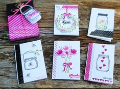 With a bow on top: Stampin' Up! Bonus Days Promotion - Jar of Love Mason Jar Cards, Happy Hearts Day, Stampin Up Catalog, Love Stamps, Love Cards, Card Tags, Creative Cards, Scrapbook Cards, Stampin Up Cards