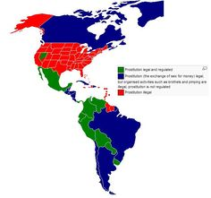 Prostitution in the Americas