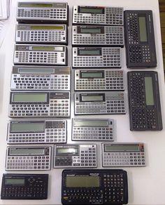 Some Sharp pocket computers - mostly from the mid-to late-1980's.     Siêu thị điện máy HC giá rẻ chất lượng hàng đầu việt nam  http://hc.com.vn/dien-tu/tivi-led.html
