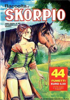 Fumetti EDITORIALE AUREA, Collana SKORPIO RACCOLTA n°500 Septembre 2015