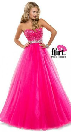 Love this hot pink prom dress!  @Terry Song Costa #flirtprom  Flirt Prom by Maggie Sottero Dress P5818 | Terry Costa Dallas