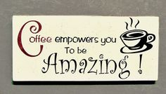 Coffee Wood Sign Kitchen Coffee Decor Coffee Shop by MulberryCreek