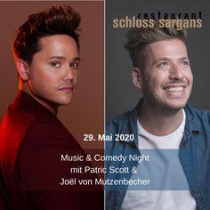 SAVE THE DATE! 29. Mai 2020 Music & Comedy Night . . . . #PatricScott #soulfulspirit  #mindbodysoultribe #swisssoul #SchlossSargans #veranstaltungenschweiz2020 #veranstaltungen #musikeventsschweiz #feiern #events2020 #swisstourism #swisstopevents #musicbusiness #joelmutzenbecher #komedie #comedynight #ostschweiz #ansage #mai2020 #geschenk #birthdaytipp #friendshipgoals #acoustic #friendsandfun #finedining #gospel #soulful #swissmusic #finedining Save The Date, Musicals, Comedy, Dating, News, Movie Posters, Dear Mom, Jokes, Musik
