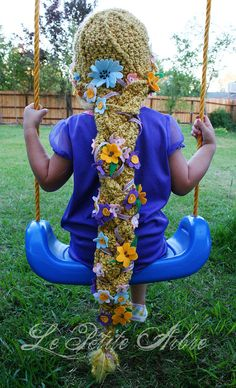 Rapunzel...l Oh. my. Goodness. I have to find out how to make this for Serena...