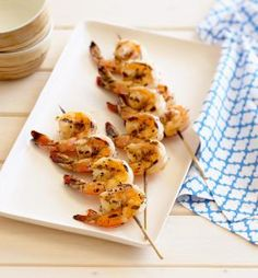 Grilled Shrimp Marinated in Zesty Moroccan Chermoula: Marinated Grilled Shrimp