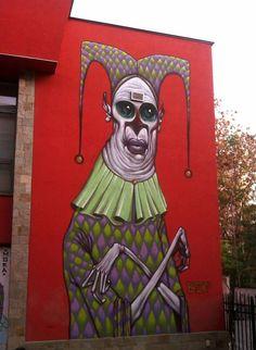 Street art | Mural (Bulgaria) by Bozko
