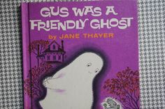 Gus Was A Friendly Ghost Weekly Reader by smileitsvintage on Etsy