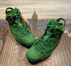 a0a4990a9c0ce9 Nike Air Jordan VI 6 Retro NRG G8RD Gatorade Green Men s Size 8.5 AJ5986 335  New