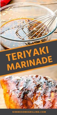 Quick and easy Teriyaki Marinade is great for marinating your chicken, pork, steak and more! You are going to love this easy marinade recipe with tons of flavor! #marinade #recipe Chicken Marinade Recipes, Chicken Marinades, Steak Recipes, Grilling Recipes, Teriyaki Marinade, Teriyaki Beef, Top Recipes, Family Recipes, Delicious Recipes