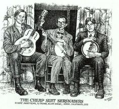 the cheap suit serenaders crumb   Bob Armstrong was inspired by early jazz, Hawaiian and string band ...
