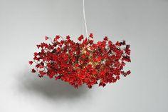 Lámparas colgantes de flores rojas, un candelabro muy exclusivo de ver a través de flores de hermosos colores rojo. La luz pasa a través de estas flores de poliéster y crear una hermosa sombra impresionante de colores en la pared. La lámpara de araña es elegante y único será una pieza de joyería en su sala de estar, comedor, cocina o dormitorio incluso. ¨¨¨¨¨¨¨¨¨¨¨¨¨°º©©º°¨¨¨¨¨¨¨¨¨¨¨¨°º©©º°¨¨¨¨¨¨¨¨¨¨¨¨ * Las arañas es 30 de diámetro * Ronda de cierre al techo en el tamaño de 5 de diámetro…