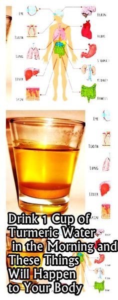 MAGICAL CUP OF TURMERIC WATER DOES WONDERS..TRY TO BELIEVE