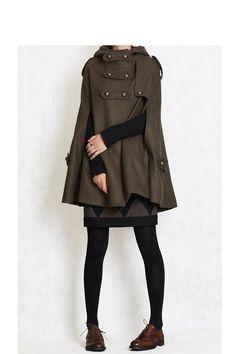 Wool blend cloak  108.00 from FM908