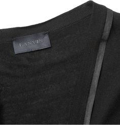 Lanvin Grosgrain-Trimmed Merino Wool Cardigan | MR PORTER Francy Kali