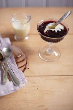Panelinha - Receitas que funcionam Sagu de vinho tinto com creme inglês