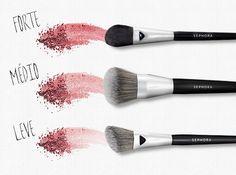 I Love Beauty - Pincel para Blush: Qual é o Seu Tipo?