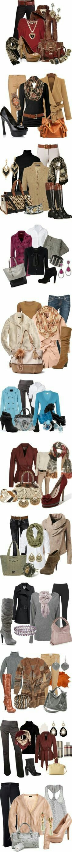 """Work Wear Pants/Jeans"" almost every one is cute! Mode Outfits, Casual Outfits, Fashion Outfits, Womens Fashion, Classy Outfits, Fall Winter Outfits, Autumn Winter Fashion, Autumn Style, Fall Fashion"