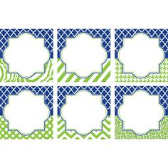 - Navy and Lime Wild Moroccan Large Accents, Use this decorative artwork to dress up classroom walls and doors, label bins and desks, or accent bull. Classroom Borders, Classroom Labels, New Classroom, Classroom Themes, Polka Dot Classroom, Alphabet Line, Classroom Arrangement, Teacher Created Resources, Navy And Green