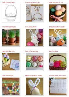 Easter Crafts makeandtakes.com