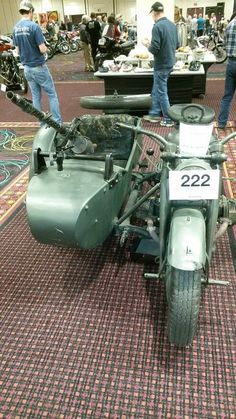 Shipping Motorcycle With Side Car !