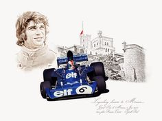 11 - Ayrton Senna - GP Monaco 1990 - REF 011 Série limitée 100 ex numérotés /signés     12 - Ricardo Patrese - GP Monaco 1982 - REF 012 Sé...