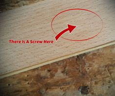 We have all been through situations where we needed to screw down two pieces of wood but at the same time we did not want the screw to be visible or to use wood filler.So here is a very quick tip on how to hide a screw.Tools And Materials: Your work piecesA 14 mm chiselA hammer or malletWood glueA clampSomething to apply pressure to the work piece while the glue dries (like a scrap piece of wood) Packing tape Drill and drill bit with countersinkScrewdriverScrewsHere is a very short video of…