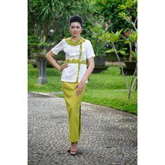 Thai spa therapist uniform 04 thai massage pinterest for Uniform spa bali