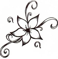 Simple Drawing Designs - Easy Designs To Draw On Paper Easy Flower Drawings Flower How To Draw A Flower Designs Simple Mandala Design Simple Cute Drawing Camping Tattoo Cool D. Easy Flower Drawings, Easy Drawings For Kids, Flower Sketches, Drawings Of Flowers, Simple Flower Drawing, Tattoo Drawings, Cool Drawings, Drawing Sketches, Pencil Drawings