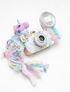 Pastel Kawaii My Little Pony La Sardina Lomo Camera Customized by Eva