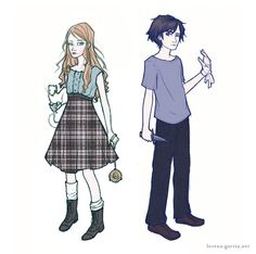 Concept Art: Lyra and Will, from 'The Subtle Knife' by Philip Pullman. By Lorena Garcia. Lyra Belacqua, Philip Pullman, The Golden Compass, Create Drawing, His Dark Materials, Knife Art, Best Fan, Fantasy Series, Children's Literature