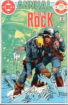 sargent rock comic books | Sgt. Rock (1977) Annual comic books