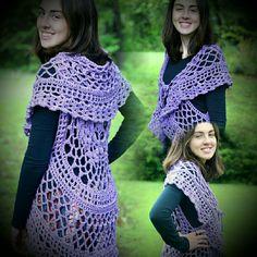 Bohemian Circle Vest  Crochet Pattern http://shelleden.etsy.com